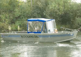 Manistee river lake michigan private fishing charters for Charter fishing manistee mi